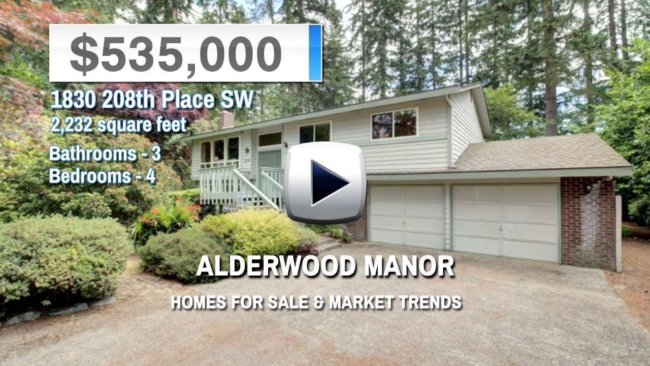 Alderwood Manor Homes for Sale and Real Estate Trends
