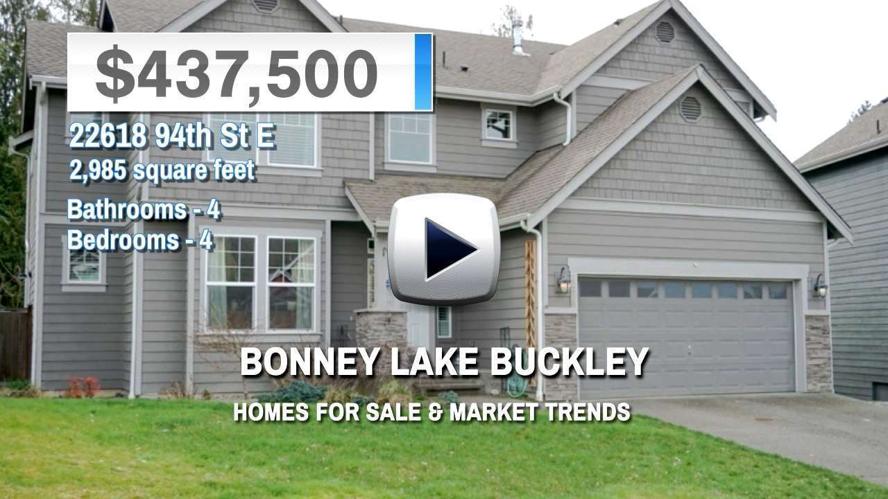 Bonney Lake Buckley Homes for Sale and Real Estate Trends