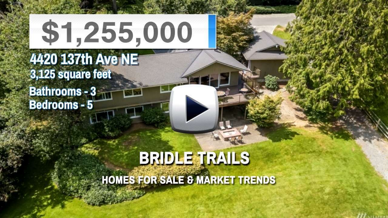 Bridle Trails Homes for Sale and Real Estate Trends