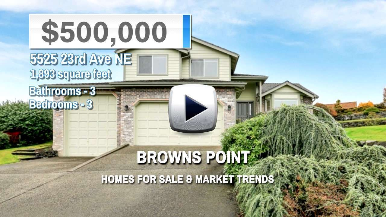 Browns Point Homes for Sale and Real Estate Trends