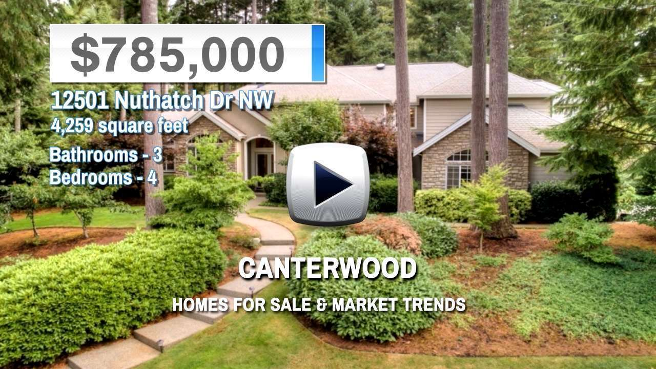 Canterwood Homes for Sale and Real Estate Trends