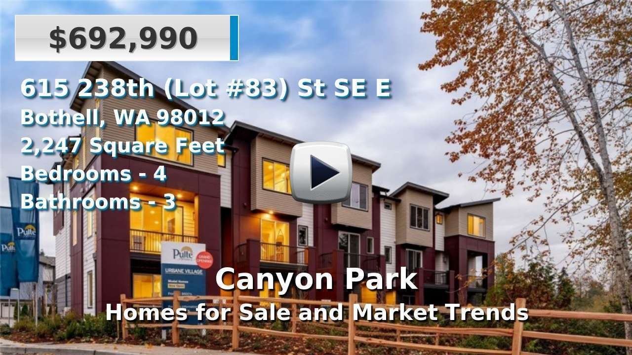 Canyon Park Homes for Sale and Real Estate Trends