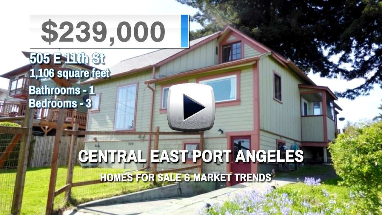 Central East Port Angeles Homes for Sale and Real Estate Trends