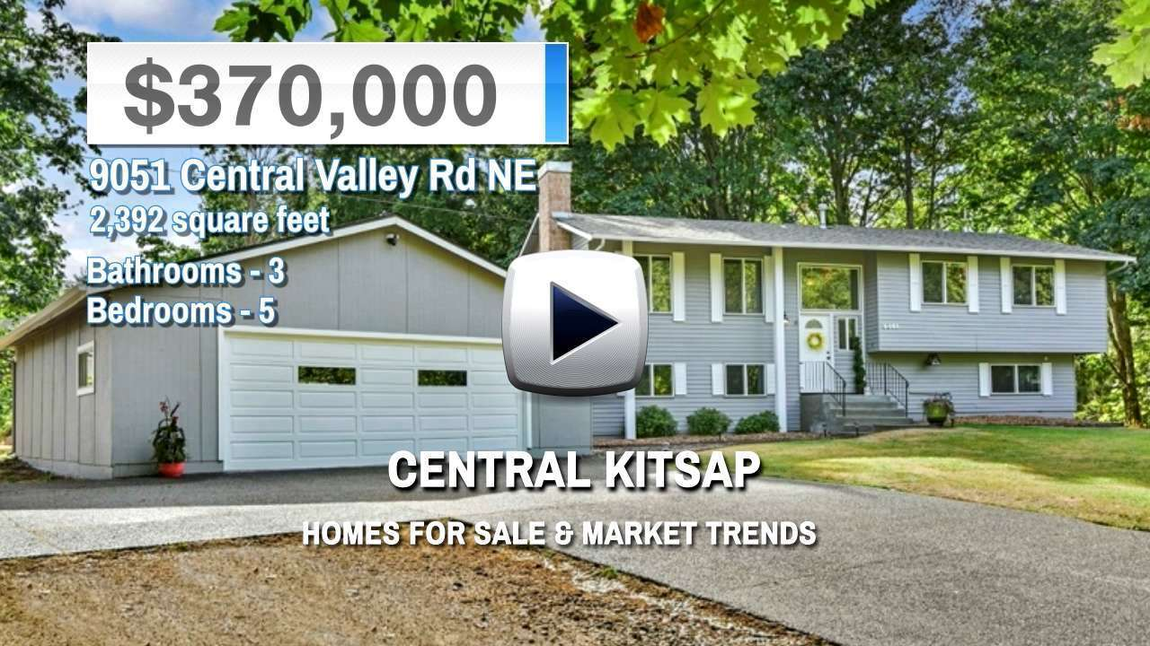 Central Kitsap Homes for Sale and Real Estate Trends