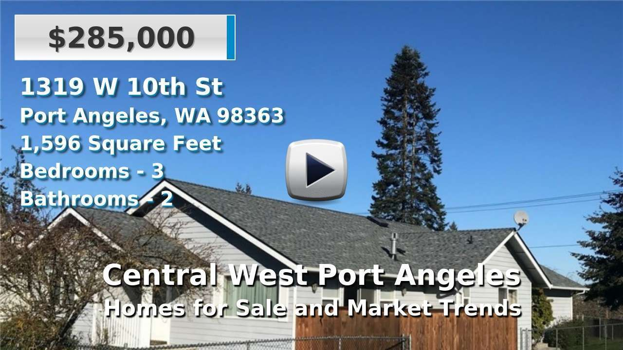 Central West Port Angeles Homes for Sale and Real Estate Trends