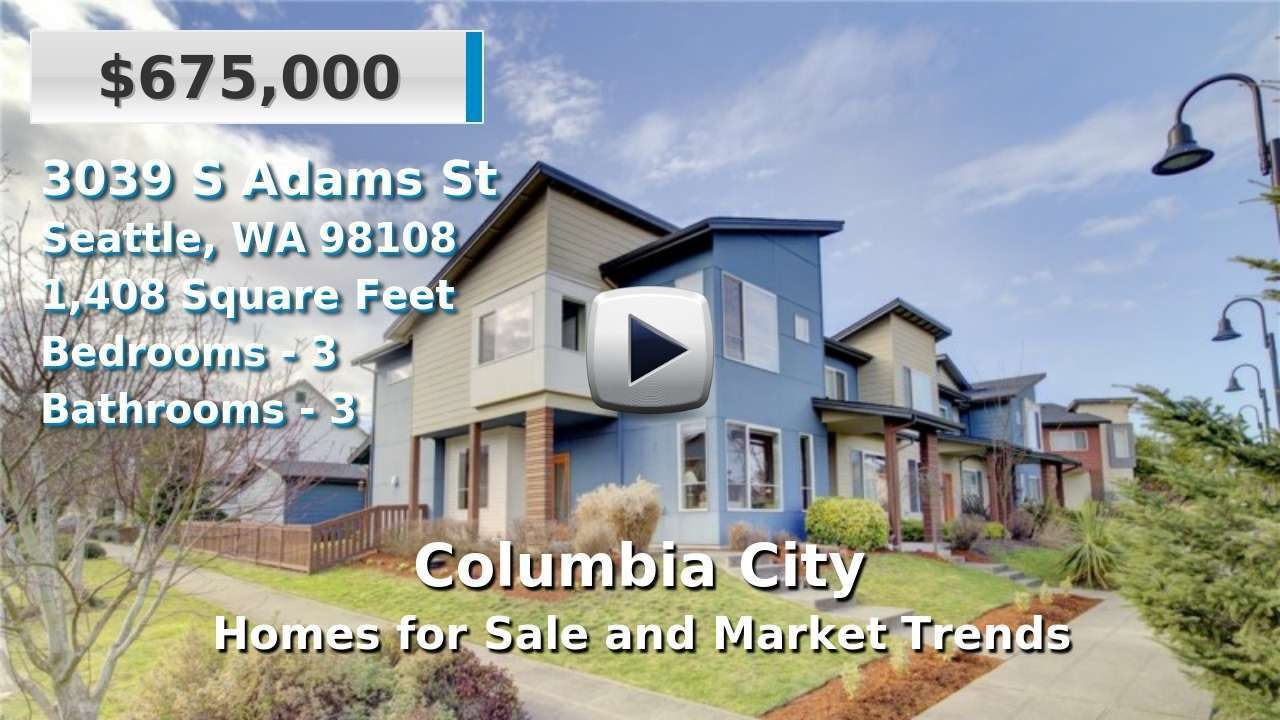 Columbia City Homes for Sale and Real Estate Trends
