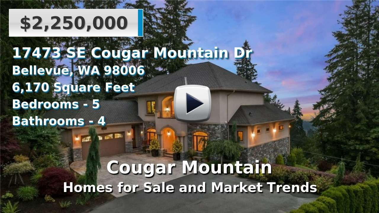 Cougar Mountain Homes for Sale and Real Estate Trends