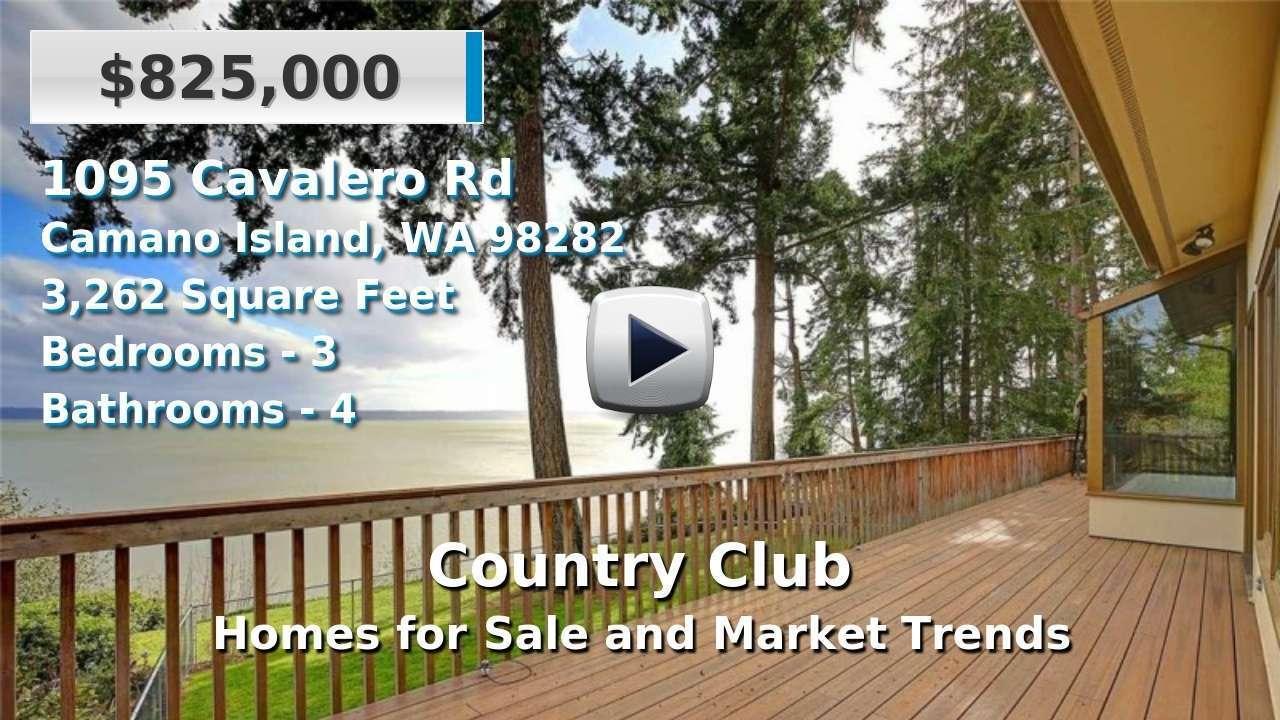 Country Club Homes for Sale and Real Estate Trends