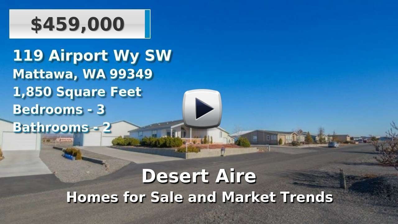 Desert Aire Homes for Sale and Real Estate Trends