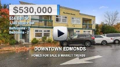 Downtown Edmonds Homes for Sale and Real Estate Trends