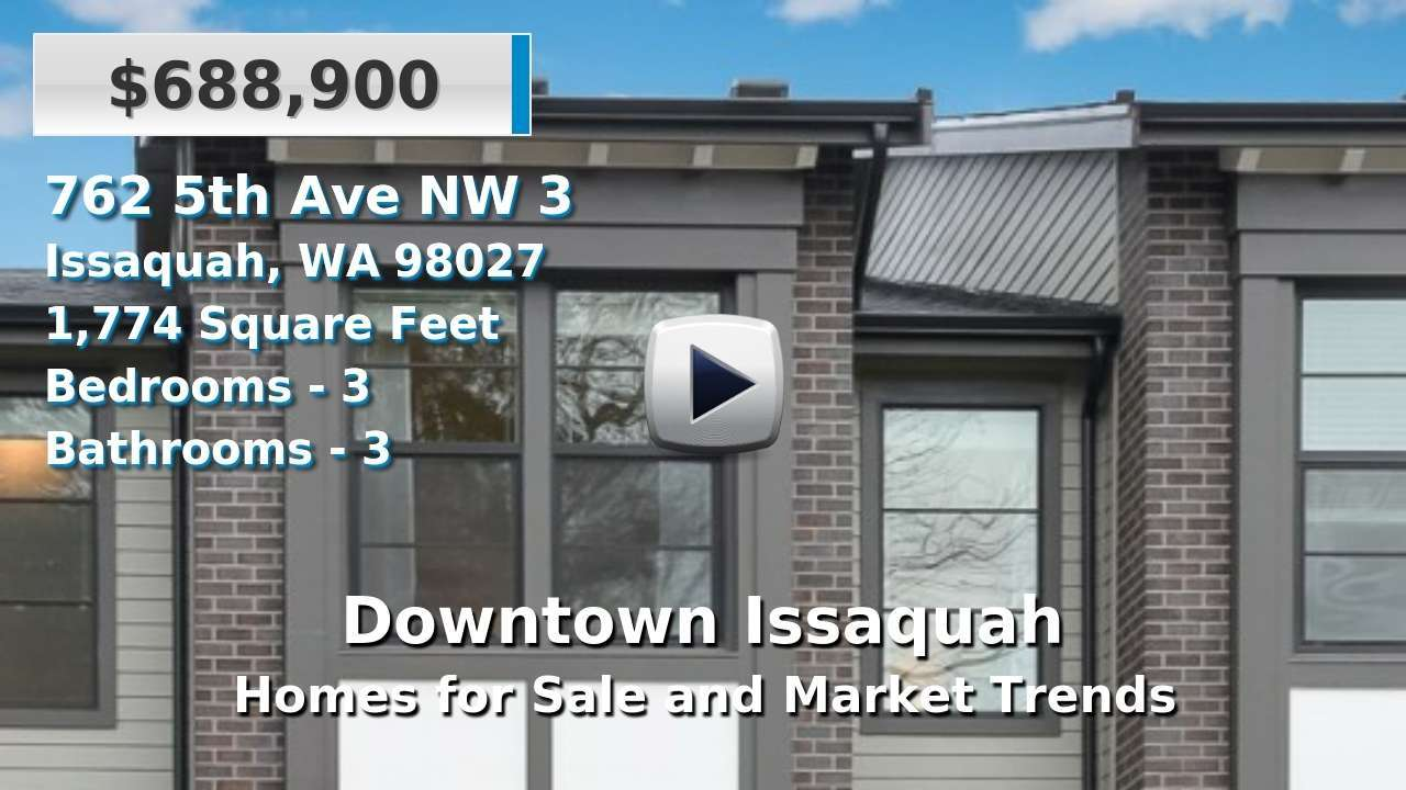 Downtown Issaquah Homes for Sale and Real Estate Trends
