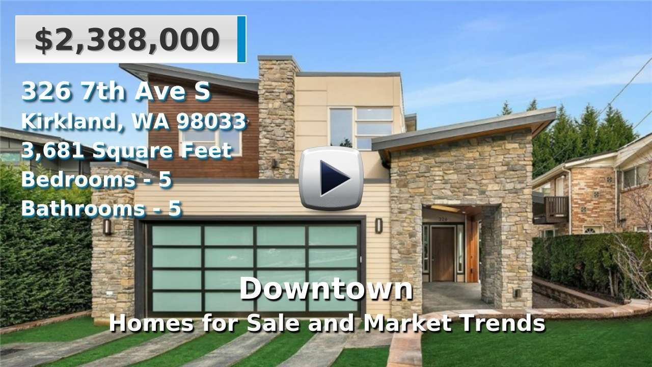 Downtown Homes for Sale and Real Estate Trends