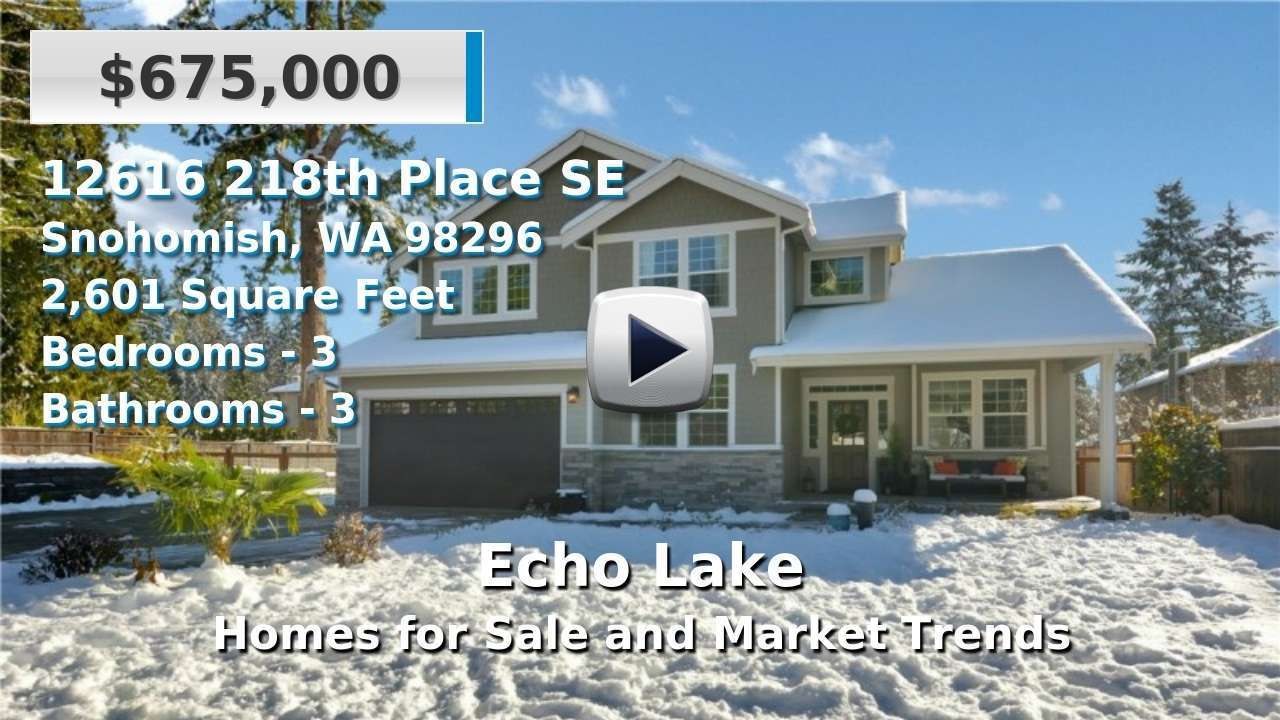 Echo Lake Homes for Sale and Real Estate Trends