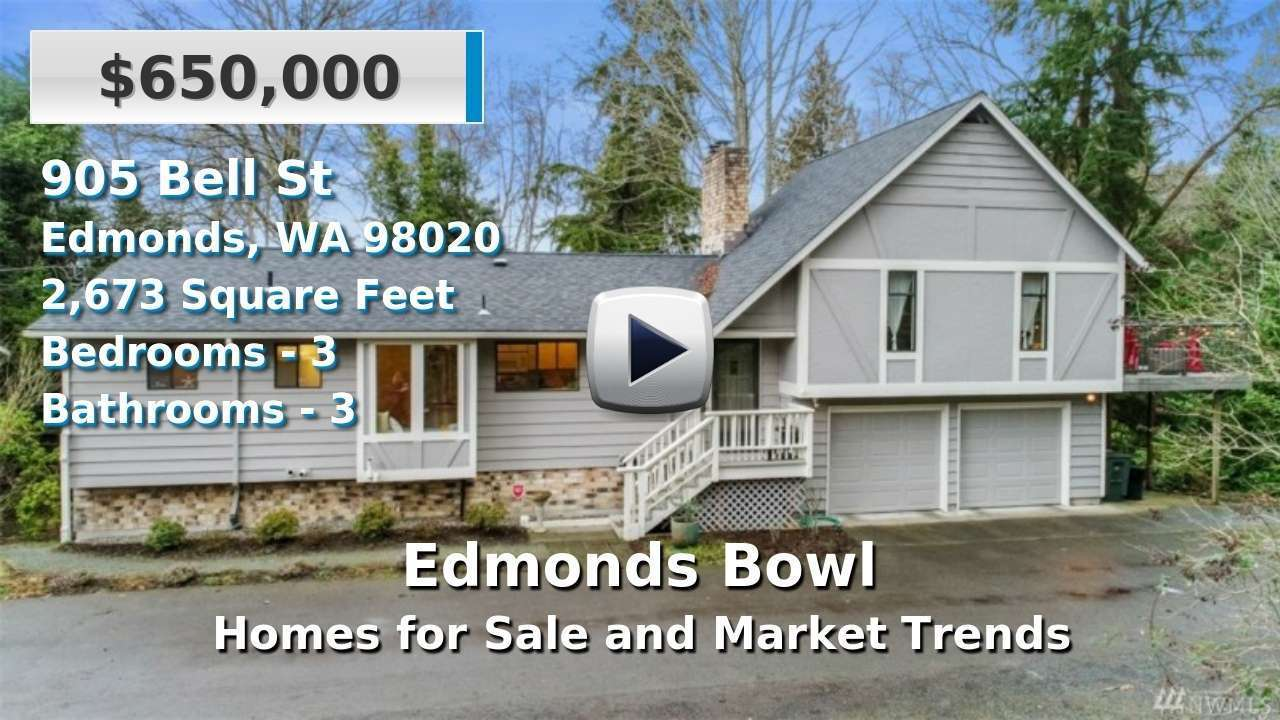 Edmonds Bowl Homes for Sale and Real Estate Trends