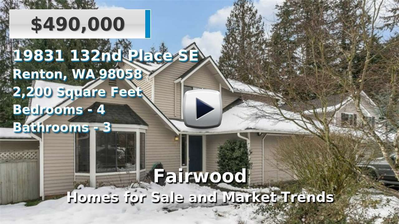Fairwood Homes for Sale and Real Estate Trends