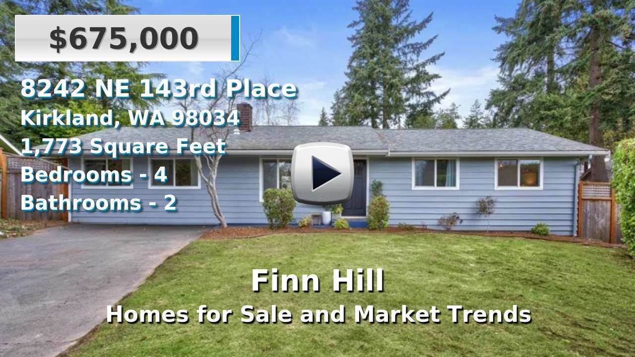 Finn Hill Homes for Sale and Real Estate Trends