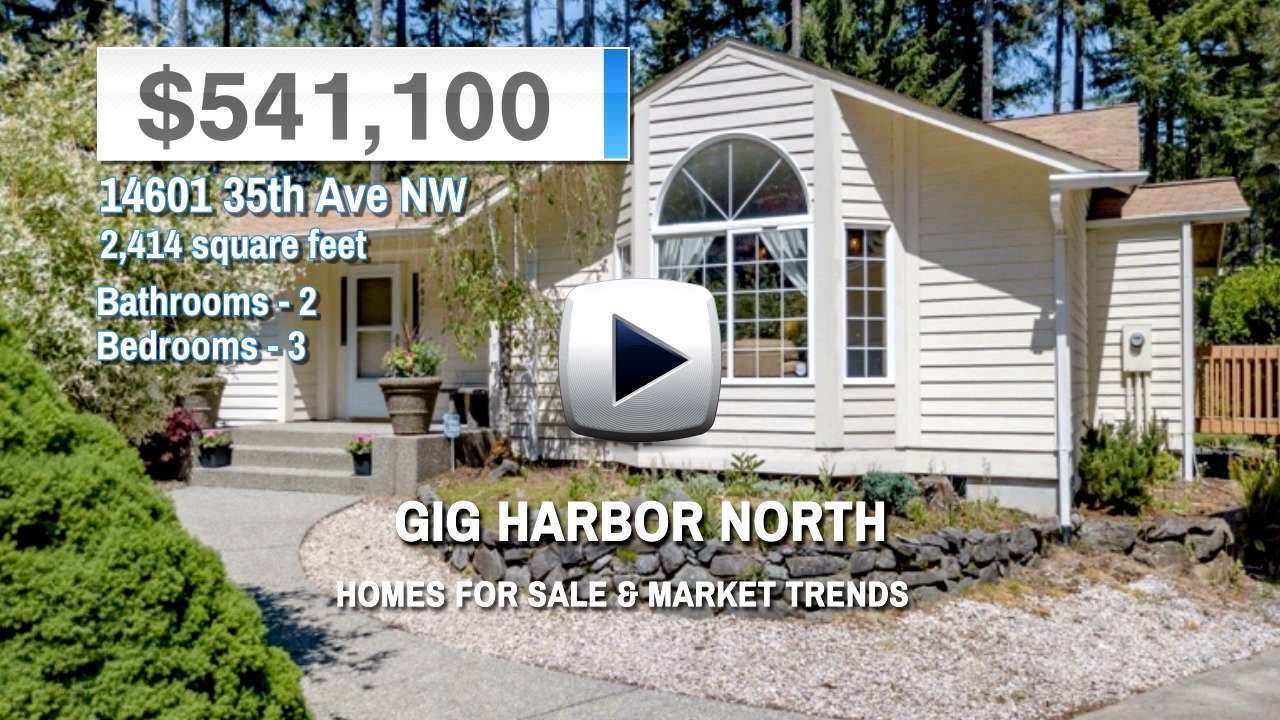 Gig Harbor North Homes for Sale and Real Estate Trends