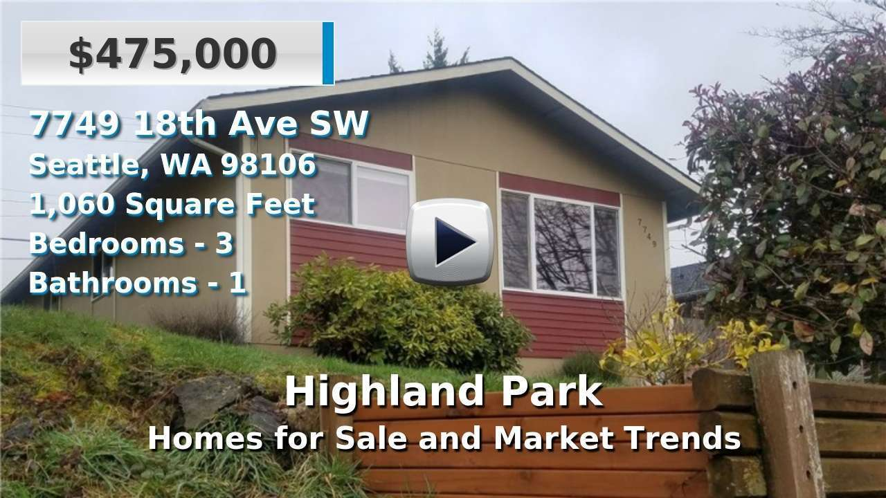 Highland Park Homes for Sale and Real Estate Trends