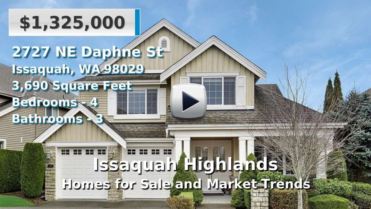 Issaquah Highlands Homes for Sale and Real Estate Trends