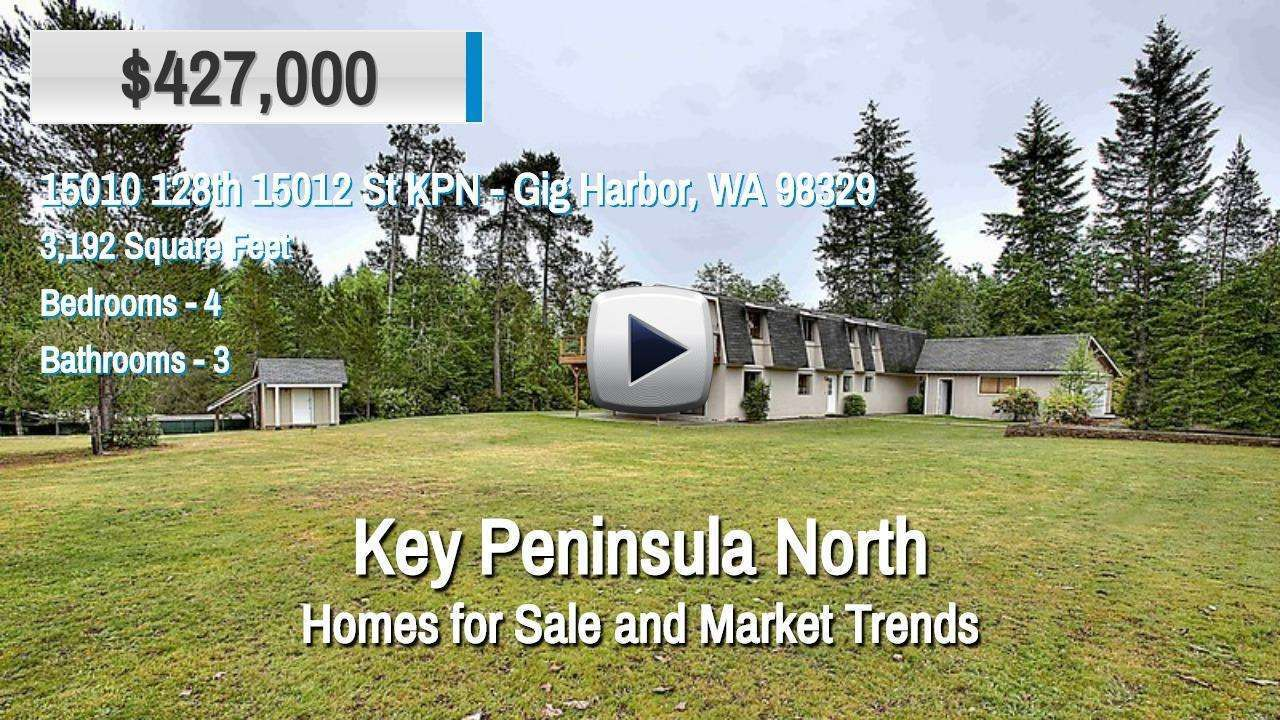 Key Peninsula North Homes for Sale and Real Estate Trends