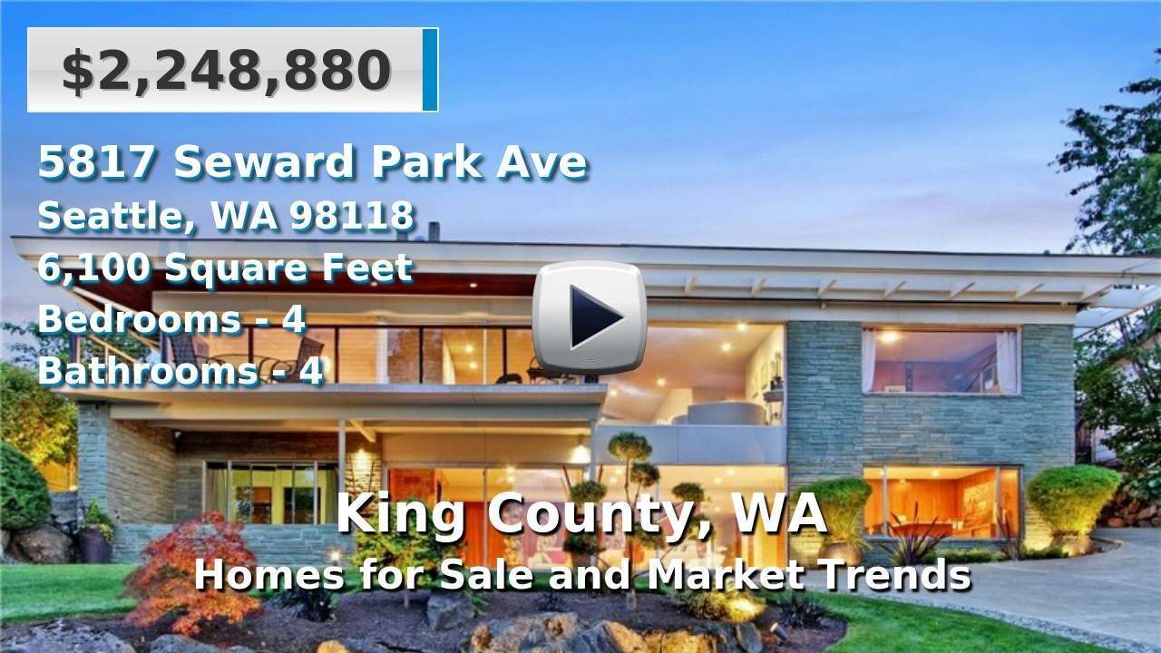 King County Homes for Sale and Real Estate Trends