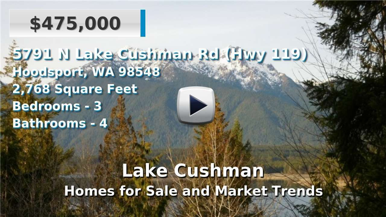 Lake Cushman Homes for Sale and Real Estate Trends