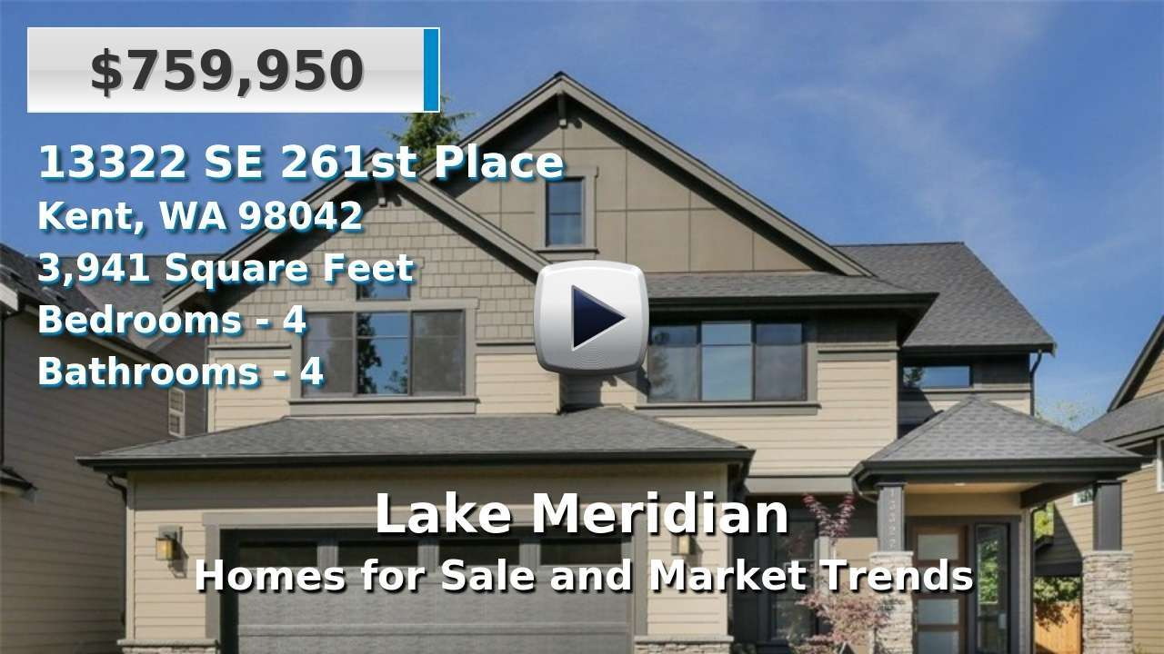 Lake Meridian Homes for Sale and Real Estate Trends