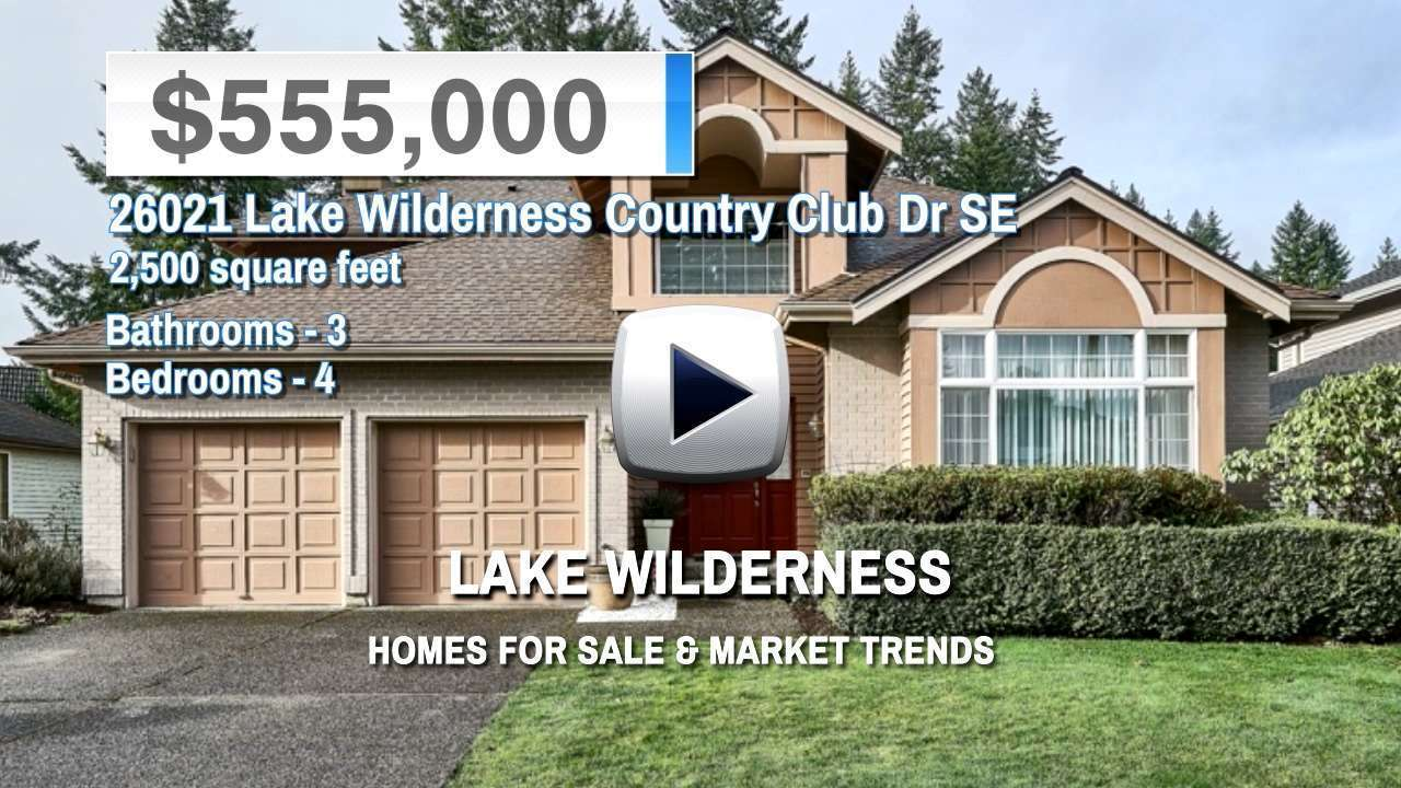 Lake Wilderness Homes for Sale and Real Estate Trends