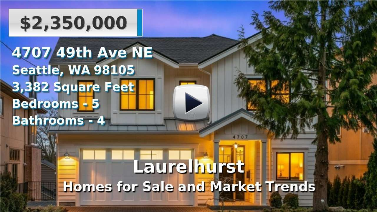 Laurelhurst Homes for Sale and Real Estate Trends
