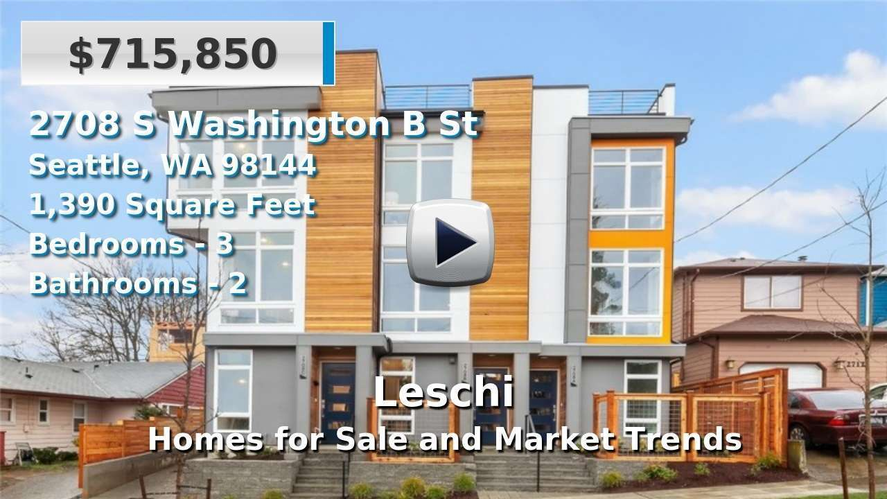 Leschi Homes for Sale and Real Estate Trends