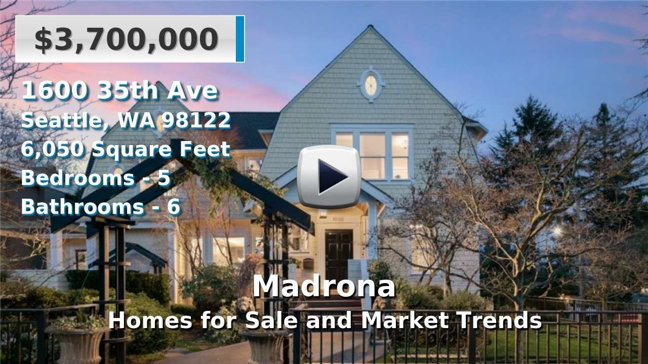 Madrona Homes for Sale and Real Estate Trends