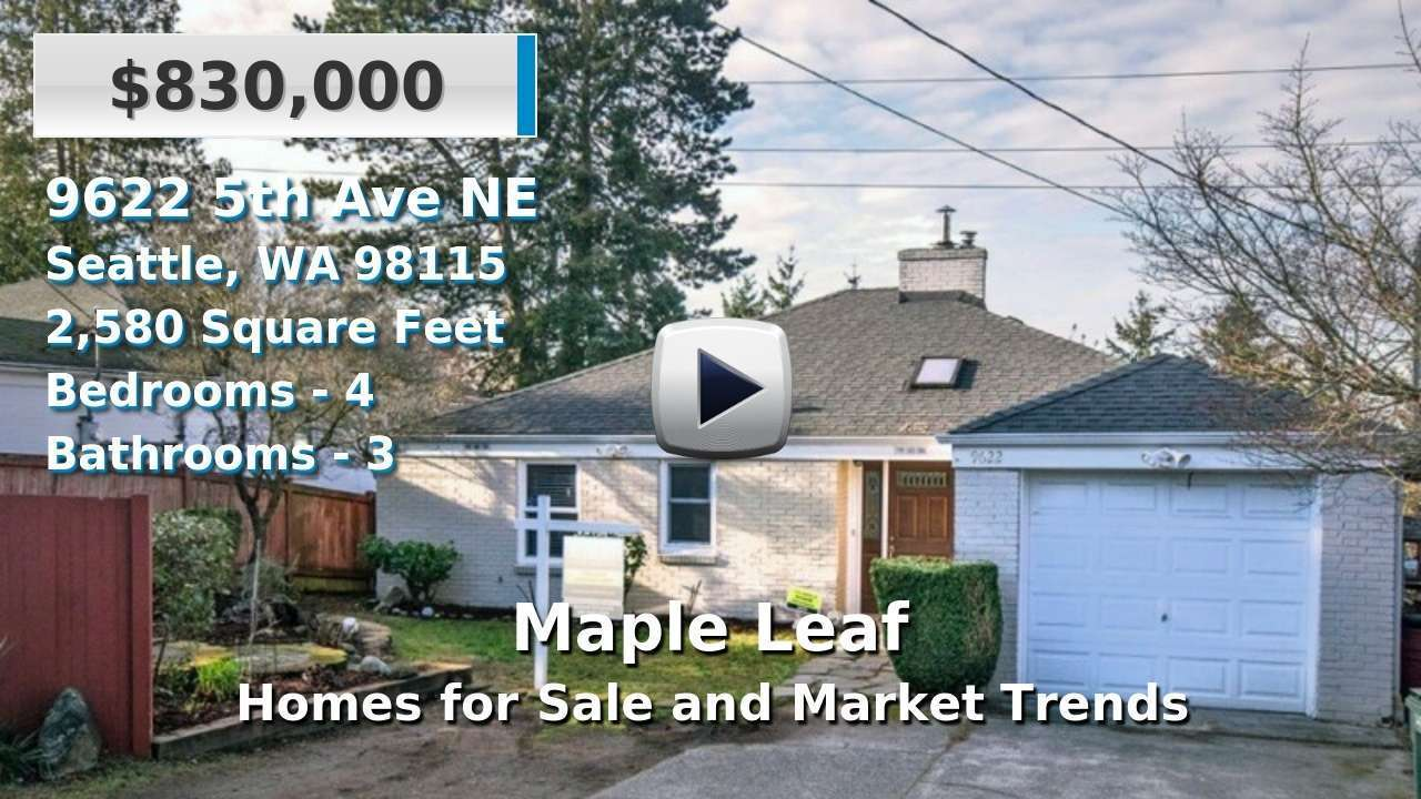Maple Leaf Homes for Sale and Real Estate Trends