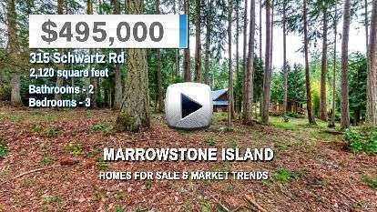 Marrowstone Island Homes for Sale and Real Estate Trends