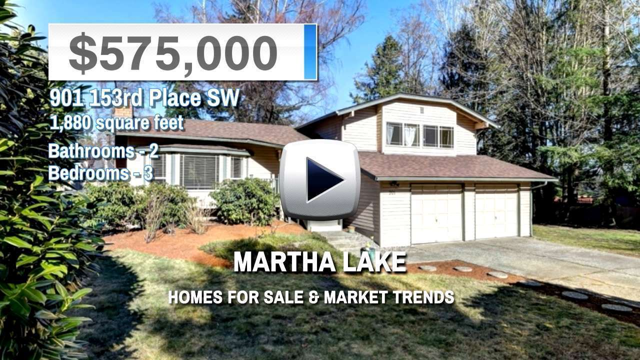 Martha Lake Homes for Sale and Real Estate Trends