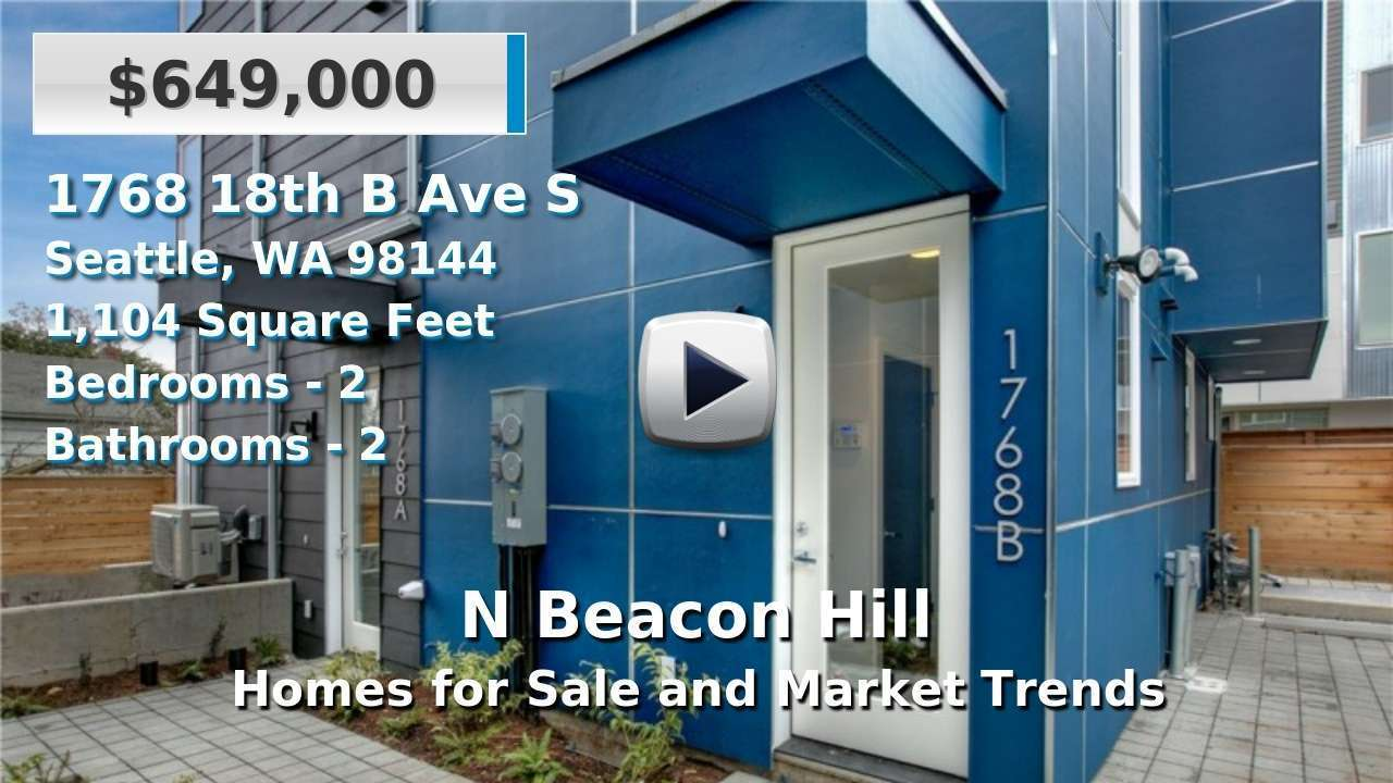 N Beacon Hill Homes for Sale and Real Estate Trends