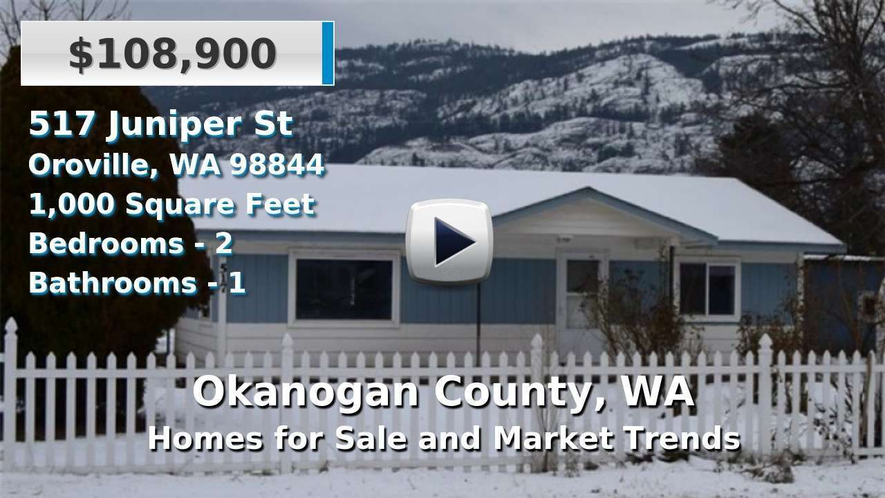 Okanogan County Homes for Sale and Real Estate Trends