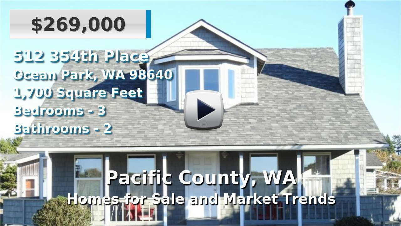 Pacific County Homes for Sale and Real Estate Trends
