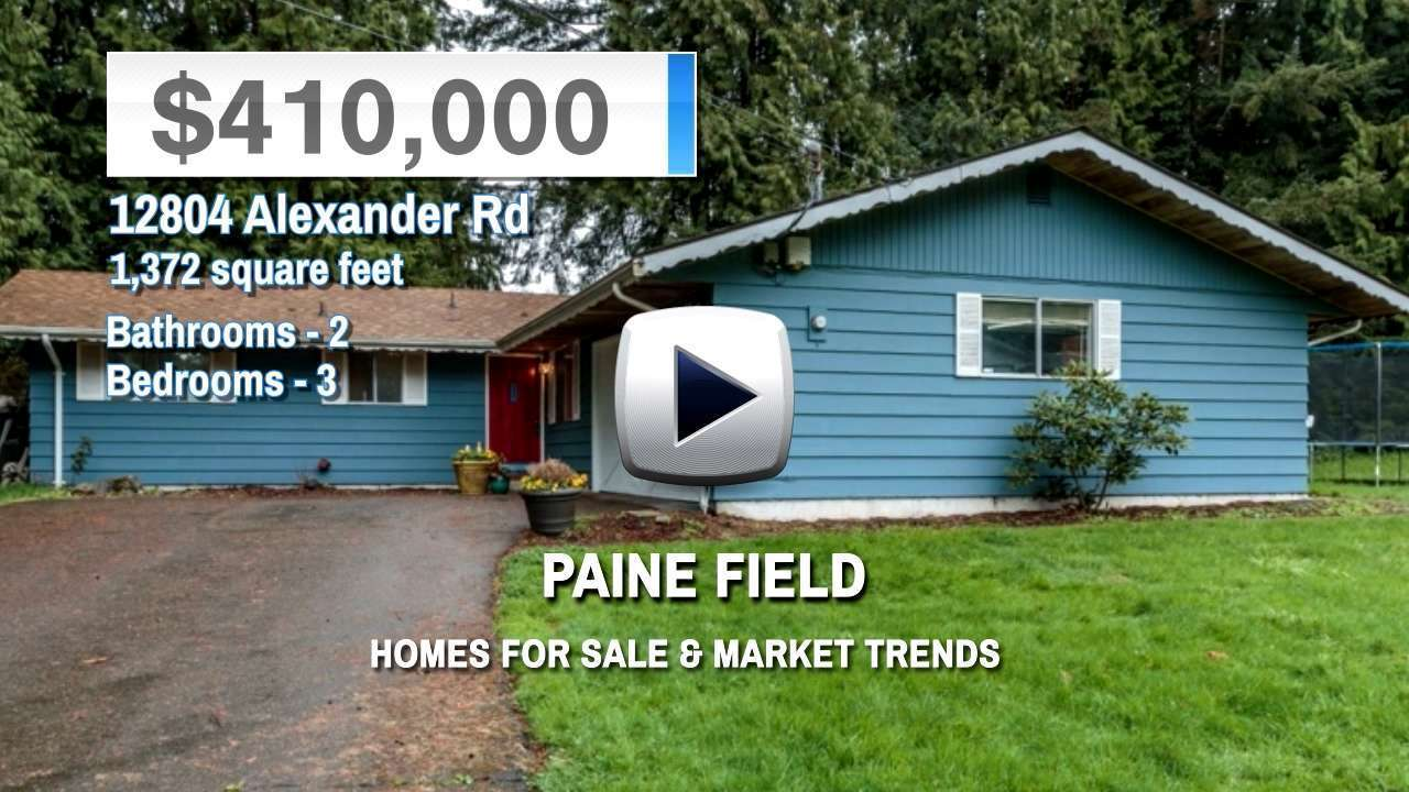 Paine Field Homes for Sale and Real Estate Trends