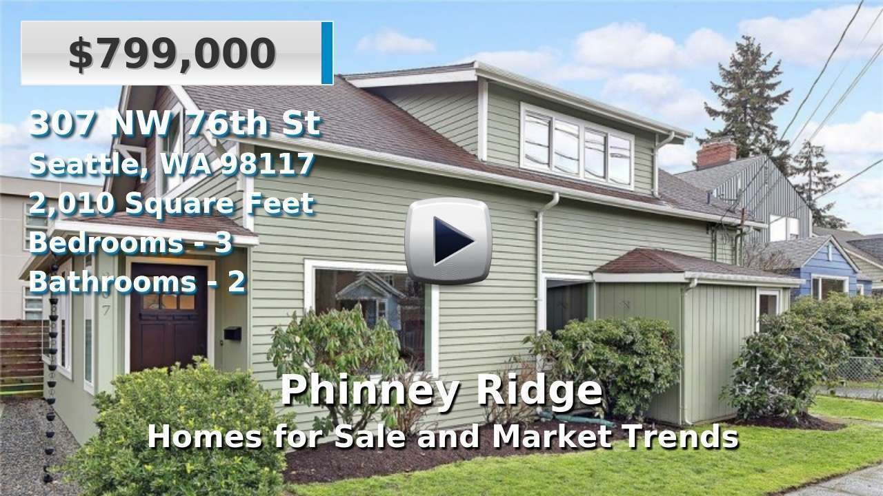 Phinney Ridge Homes for Sale and Real Estate Trends