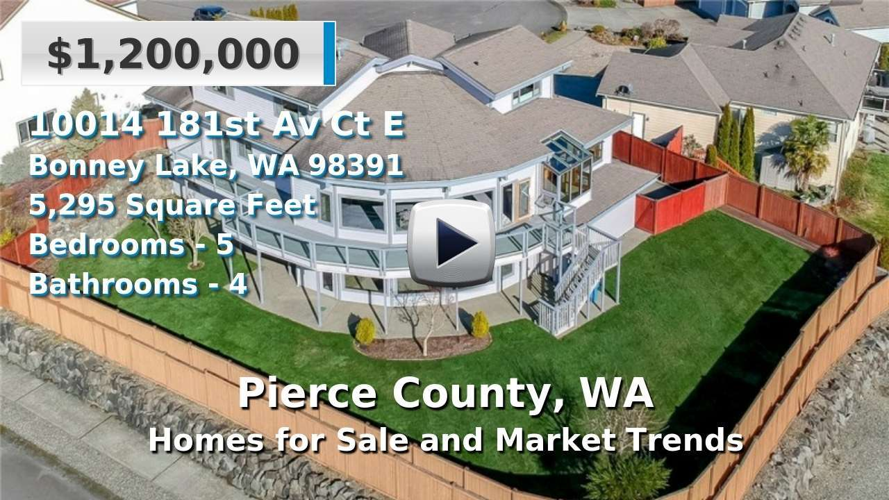Pierce County Homes for Sale and Real Estate Trends