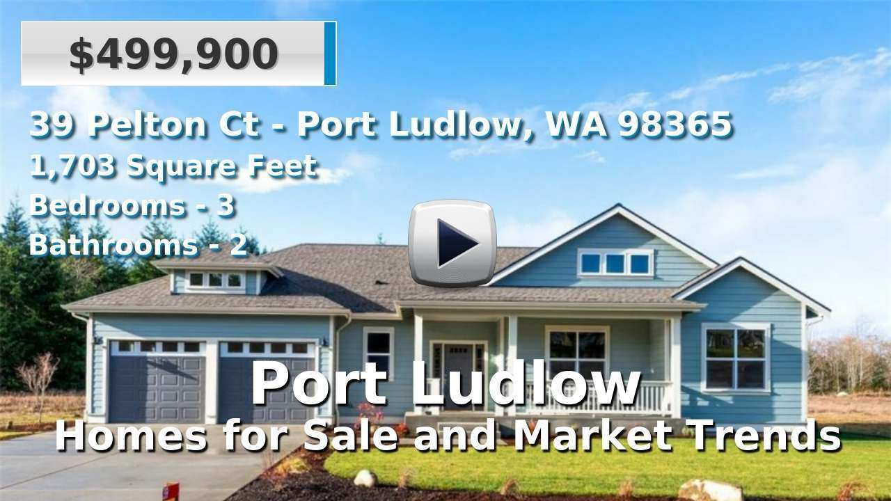 Port Ludlow, WA Homes for Sale | 127 Port Ludlow Real Estate Listings