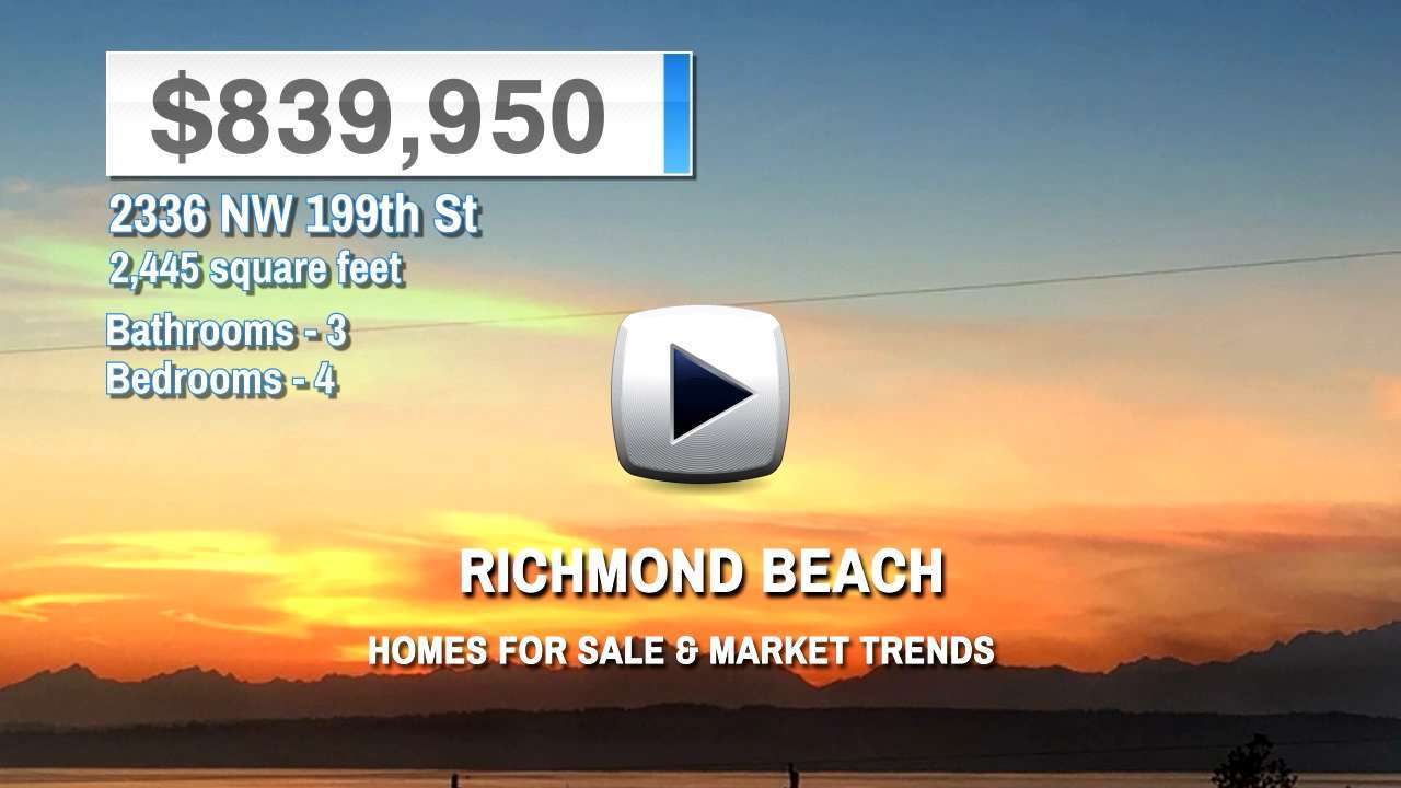 Richmond Beach Homes for Sale and Real Estate Trends