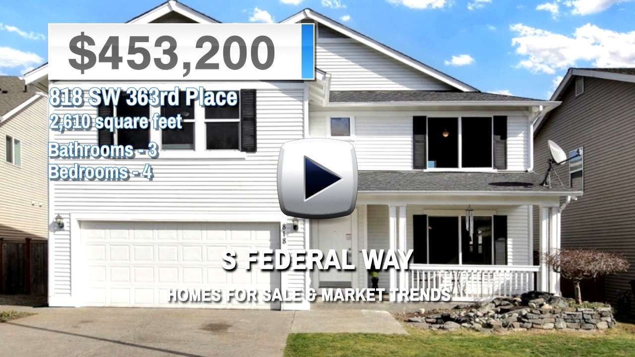 S Federal Way Homes for Sale and Real Estate Trends