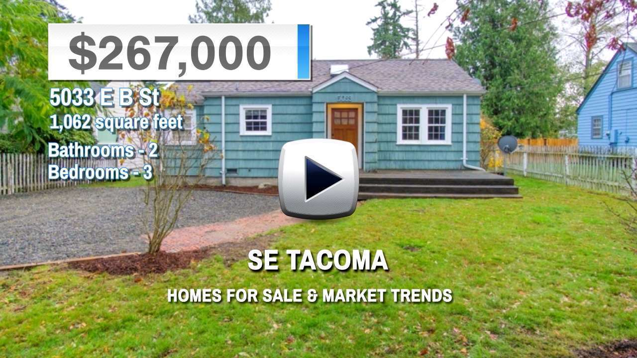 Se Tacoma Homes for Sale and Real Estate Trends