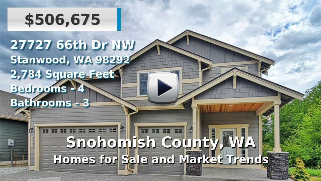 Snohomish County Homes for Sale and Real Estate Trends