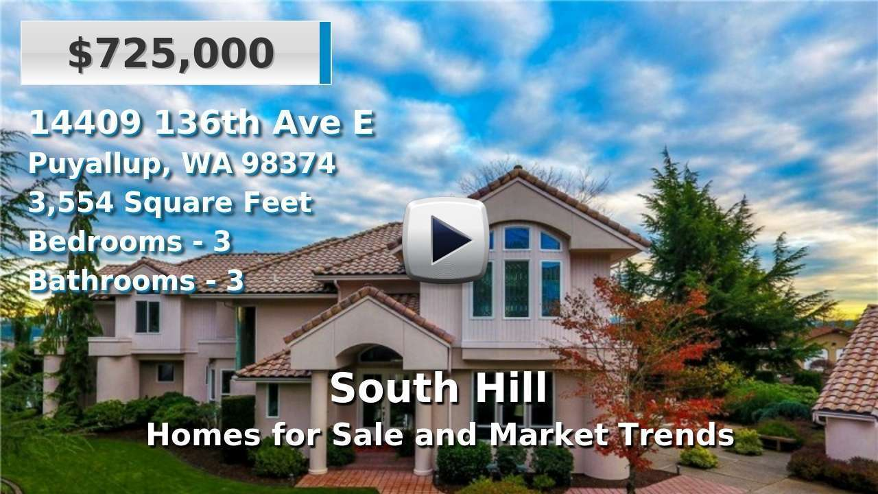 South Hill Homes for Sale and Real Estate Trends