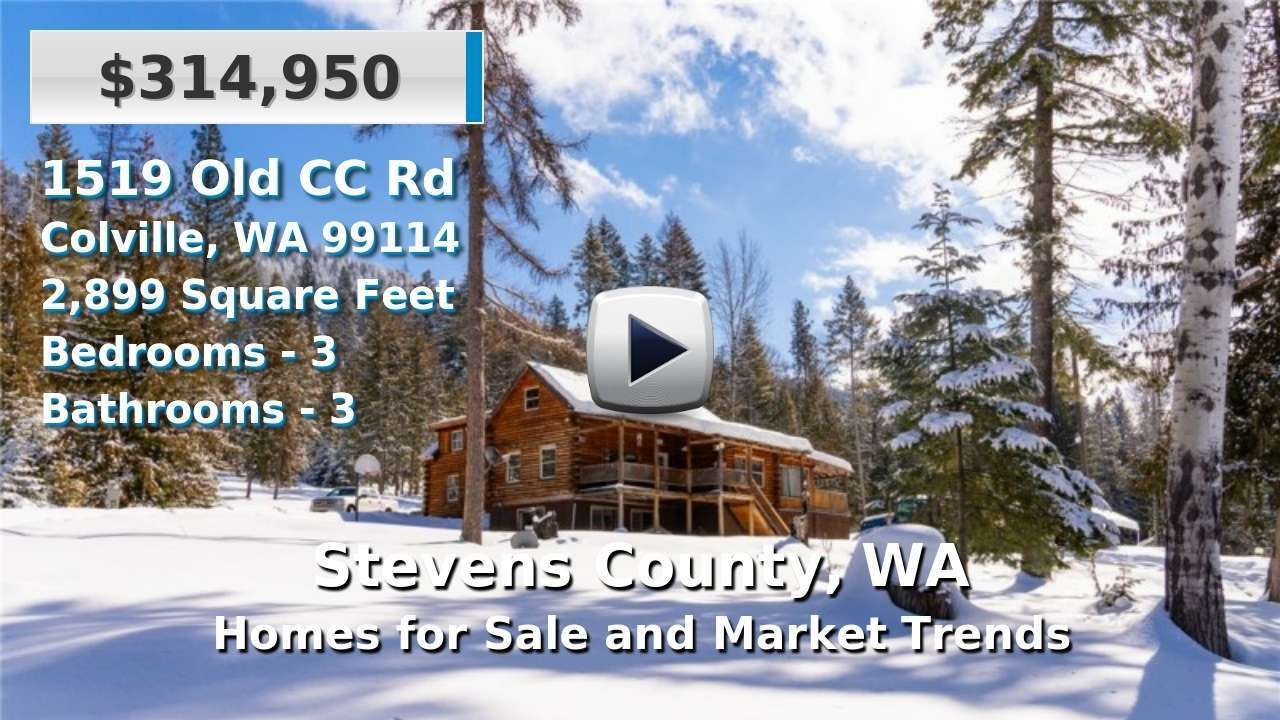 Stevens County Homes for Sale and Real Estate Trends