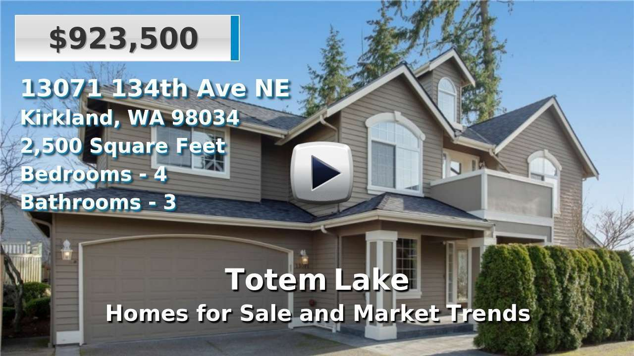 Totem Lake Homes for Sale and Real Estate Trends