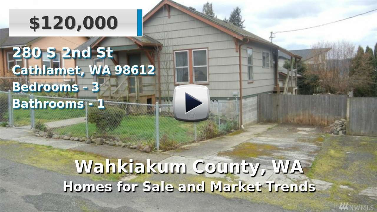 Wahkiakum County Homes for Sale and Real Estate Trends