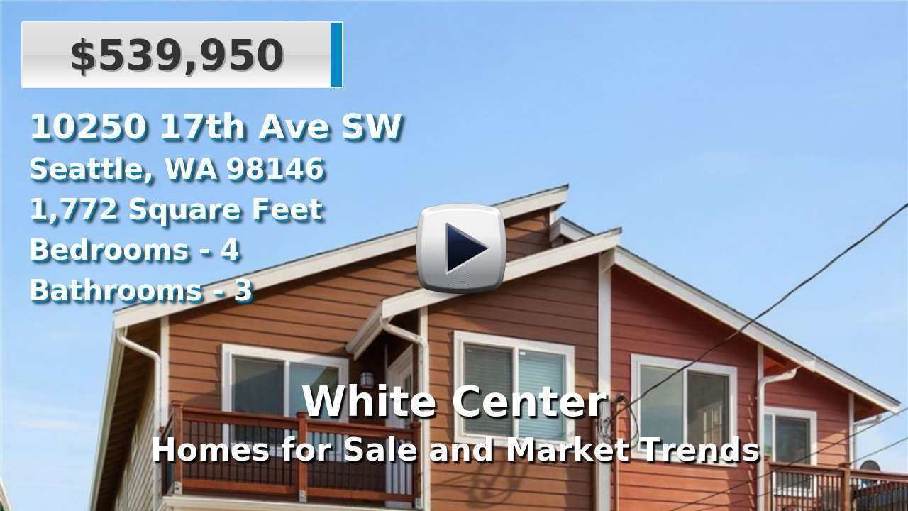 White Center Homes for Sale and Real Estate Trends